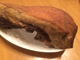 中華風ベーコン、自家製豚で手作りの腊肉