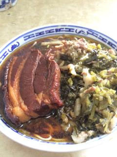 徳興館の麺