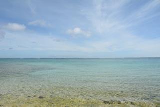 今帰仁・長浜の海