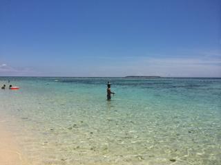 さよなら、2014年夏!沖縄瀬底ビーチにて