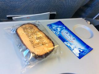今回の関空便の機内食