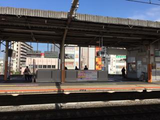近鉄八木駅にて