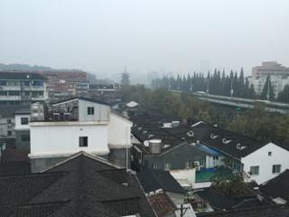 杭州市内の下町