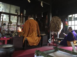 新大仏寺にて