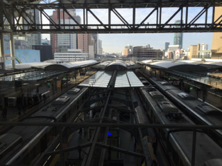 JR大阪駅にて