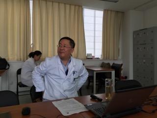 江蘇省中医院腎臓内科首席主任の孫偉教授