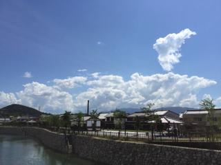 今井町遠景