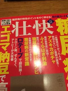 「壮快」2015年11月号