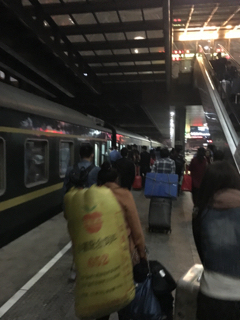 寝台列車はもうすぐ発車