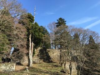 奈良高取城本丸