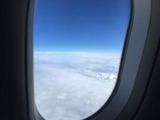 上海吉祥航空にて