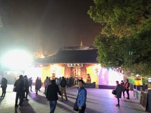 大晦日の竜華寺